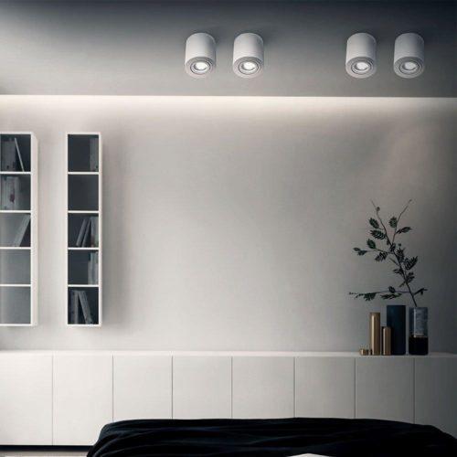 Surface mounted luminaires